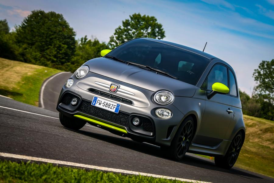 Upgrade 2020 Abarth 595 Pista With 165 Ps 230 Nm