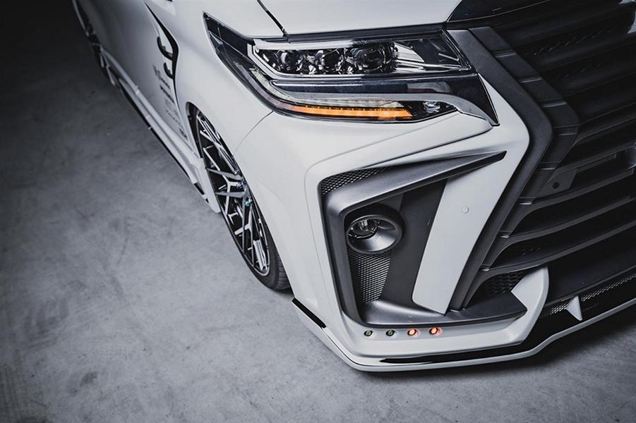 2020 ROWEN International Bodykit Toyota ALPHARD Tuning 11 2020 ROWEN International Bodykit am Toyota ALPHARD