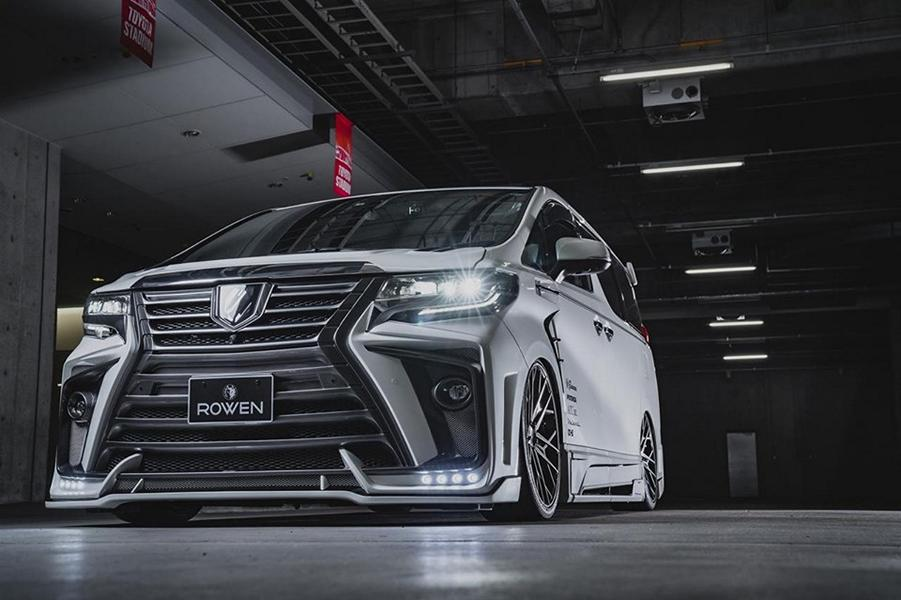 2020 ROWEN International Bodykit Toyota ALPHARD Tuning 13 2020 ROWEN International Bodykit am Toyota ALPHARD