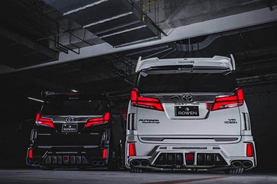 2020 ROWEN International Bodykit Toyota ALPHARD Tuning 27 2020 ROWEN International Bodykit am Toyota ALPHARD