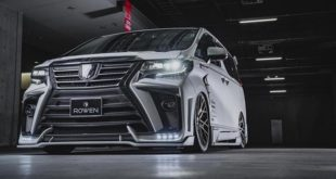 2020 ROWEN International Bodykit Toyota ALPHARD Tuning 310x165 Video: Evolve Stage 2 BMW M5 F90 Limo fährt 321 km/h