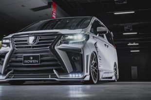 2020 ROWEN International Bodykit Toyota ALPHARD Tuning 310x205 2020 ROWEN International Bodykit am Toyota ALPHARD