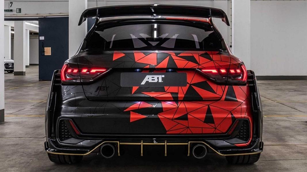 ABT Sportsline Audi A1 1of1 Tuning TT Cup Motor Daniel ABT 4 1 ABT Sportsline Audi A1 1of1 mit +400 PS TT Cup Motor
