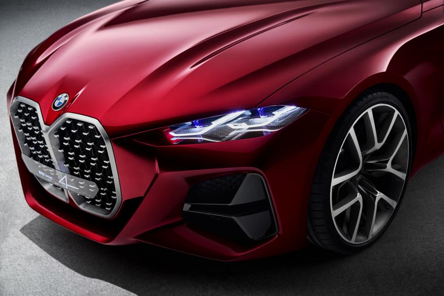 BMW Concept 4 Series Coup%C3%A9 IAA 2019 Tuning M4 2020 10 Fast perfekt: BMW Concept 4 Series Coupé zur IAA 2019