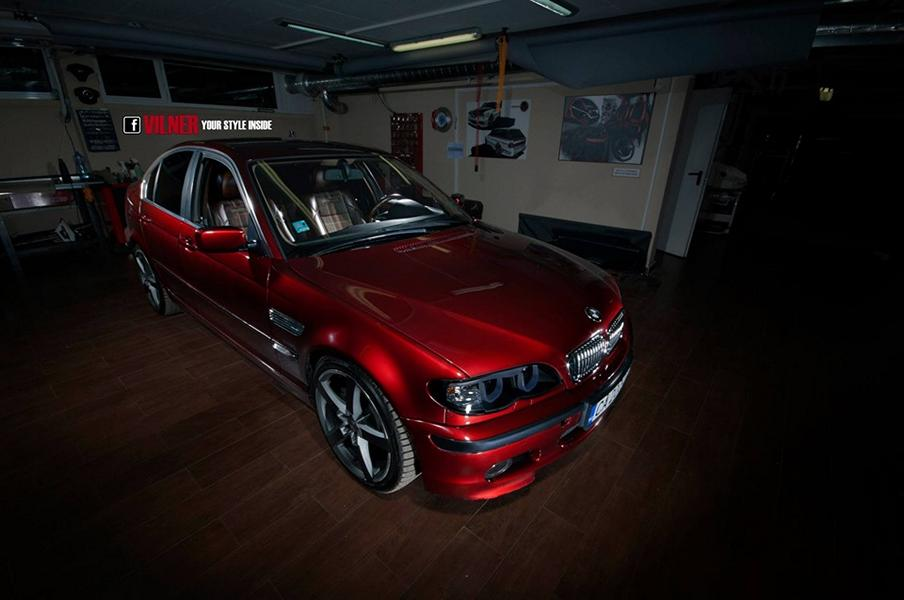 BMW E46 kape Tuning Vilner Garage 11 Project: BMW E46 # каре # vom Tuner Vilner Garage