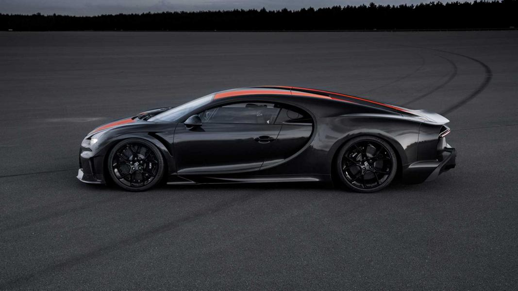 Bugatti Chiron Longtail Tuning 2024 Video: 490 km/h im modifizierten Bugatti Chiron (2019)