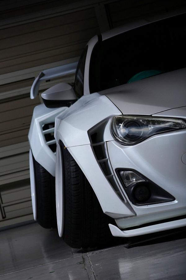 Camber Style Widebody Kit Toyota GT86 Coupe Tuning 1 Camber Style und Widebody Kit am Toyota GT86 Coupe