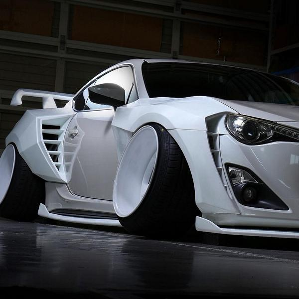 Camber Style Widebody Kit Toyota GT86 Coupe Tuning 12 Camber Style und Widebody Kit am Toyota GT86 Coupe