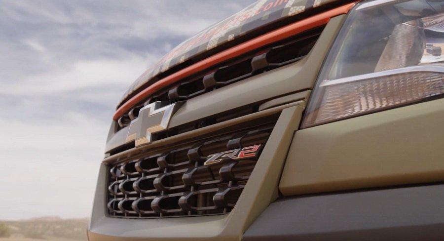 Chevrolet Colorado ZR2 Pickup 35 Zoll Tuning 1 Video: Chevrolet Colorado ZR2 Pickup auf 35 Zöllern