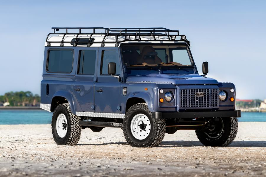 ECD automotive Land Rover Defender D110 V8 Tuning 1 Project A Layne: ECD automotive Defender D110 mit V8