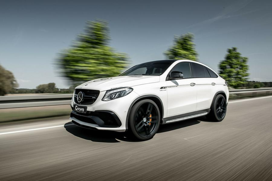 G Power Mercedes Benz GLE 63 S AMG C292 Tuning 2 Supersportler Power im SUV: G Power Mercedes GLE 63 S AMG