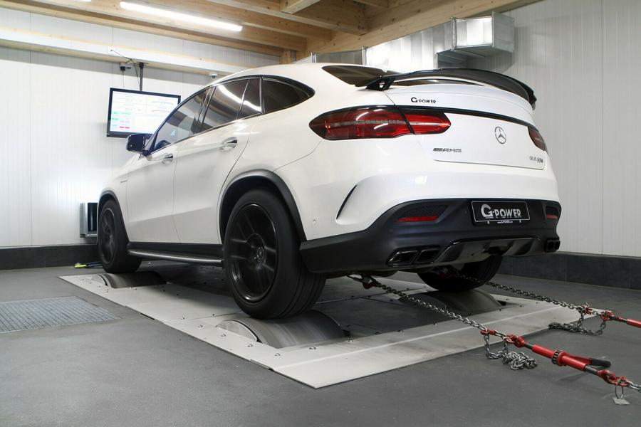 G Power Mercedes Benz GLE 63 S AMG C292 Tuning 5 Supersportler Power im SUV: G Power Mercedes GLE 63 S AMG