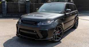 Kahn Widebody Range Rover Sport SVR Pace Car Tuning 3 310x165 Brutal: Kahn Widebody Range Rover Sport SVR Pace Car