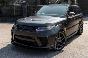 Kahn Widebody Range Rover Sport SVR Pace Car Tuning 3 310x205 Brutal: Kahn Widebody Range Rover Sport SVR Pace Car
