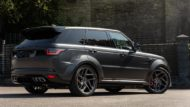 Kahn Widebody Range Rover Sport SVR Pace Car Tuning 5 190x107 Brutal: Kahn Widebody Range Rover Sport SVR Pace Car