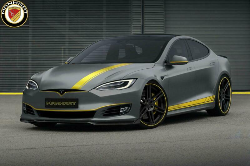 MANHART Edition Tesla Model S Performance Ludicrous Tuning 1 MANHART Edition Tesla Model S Performance Ludicrous & Co.