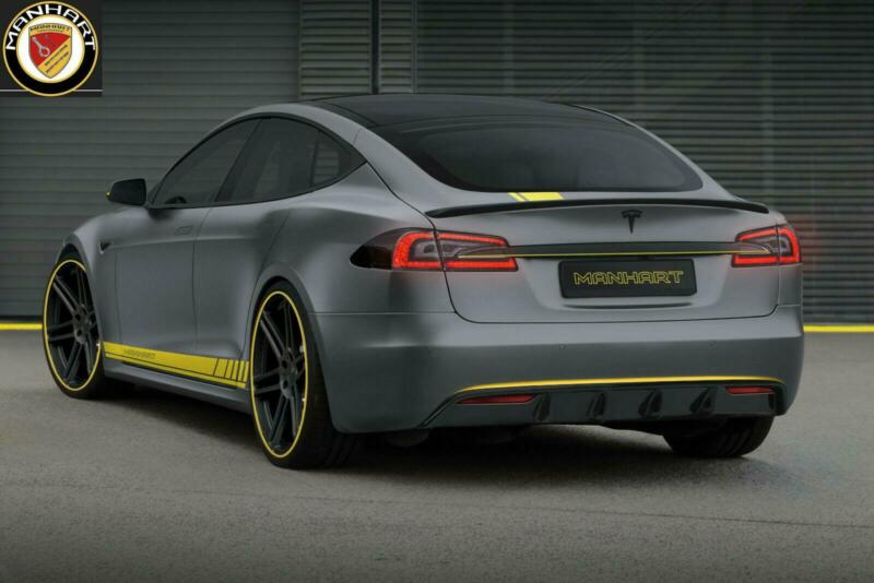 MANHART Edition Tesla Model S Performance Ludicrous Tuning 2 MANHART Edition Tesla Model S Performance Ludicrous & Co.