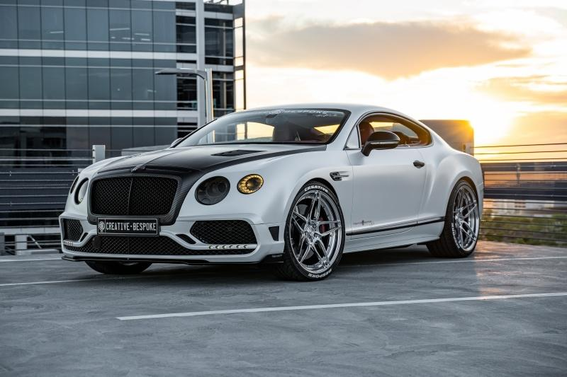 Mansory Bentley Continental GT Tuning ADV 53 Mansory Bentley Continental GT vom Tuner Creative Bespoke