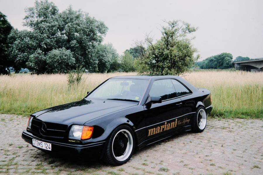 Mariani Mercedes Benz W124 E BMW E34 5er Tuning 2 Video: Mariani Mercedes Benz W124 E und BMW E34 5er