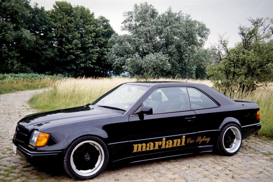 Mariani Mercedes Benz W124 E BMW E34 5er Tuning 4 Video: Mariani Mercedes Benz W124 E und BMW E34 5er