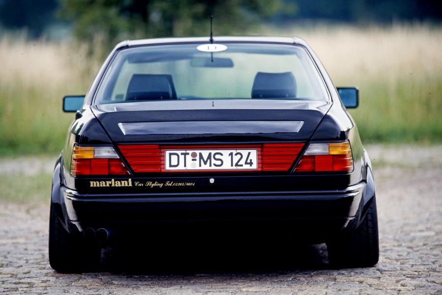Mariani Mercedes Benz W124 E BMW E34 5er Tuning 5 Video: Mariani Mercedes Benz W124 E und BMW E34 5er