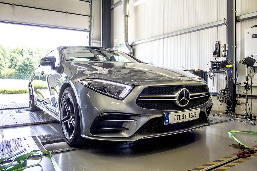 Mercedes AMG Chiptuning CLS 53 DTE 4 Mercedes AMG CLS 53 mit 505 PS & 645 Nm by DTE
