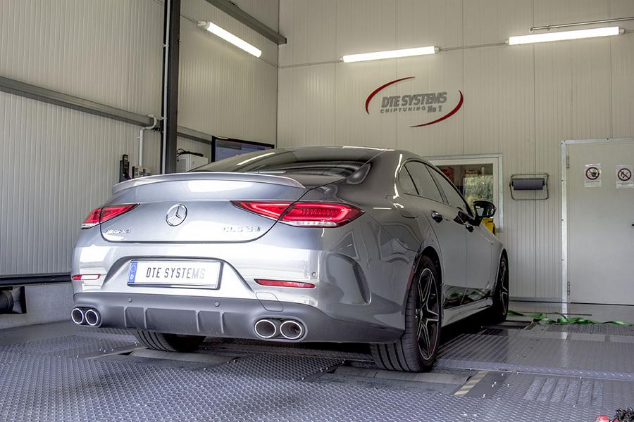 Mercedes AMG Chiptuning CLS 53 DTE 6 Mercedes AMG CLS 53 mit 505 PS & 645 Nm by DTE