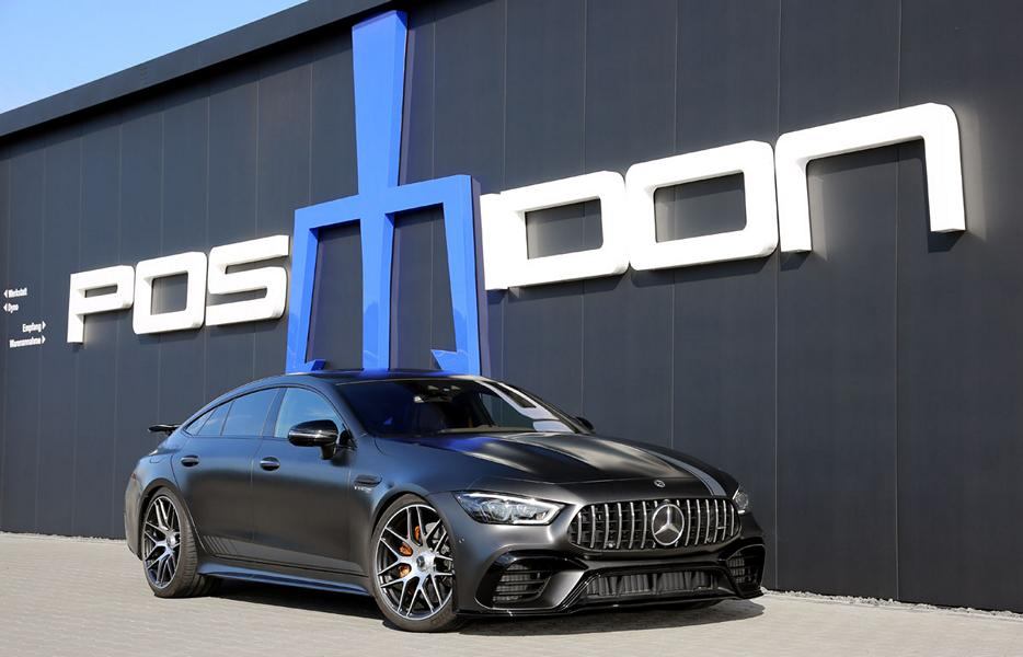 Mercedes AMG GT 4 T%C3%BCrer Coup%C3%A9 Tuning Posaidon X 290 1 880 PS Mercedes AMG GT 4 Türer Coupé von Posaidon