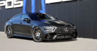 Mercedes AMG GT 4 T%C3%BCrer Coup%C3%A9 Tuning Posaidon X 290 Header 310x165 Keine Gegner: Mercedes E63 S T Modell als Posaidon RS 830+