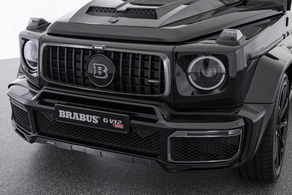 "Mercedes BRABUS G V12 900 ONE OF TEN W463A 2019 Tuning 10 Irre   Mercedes BRABUS G V12 900 ""ONE OF TEN"" (W463A)"
