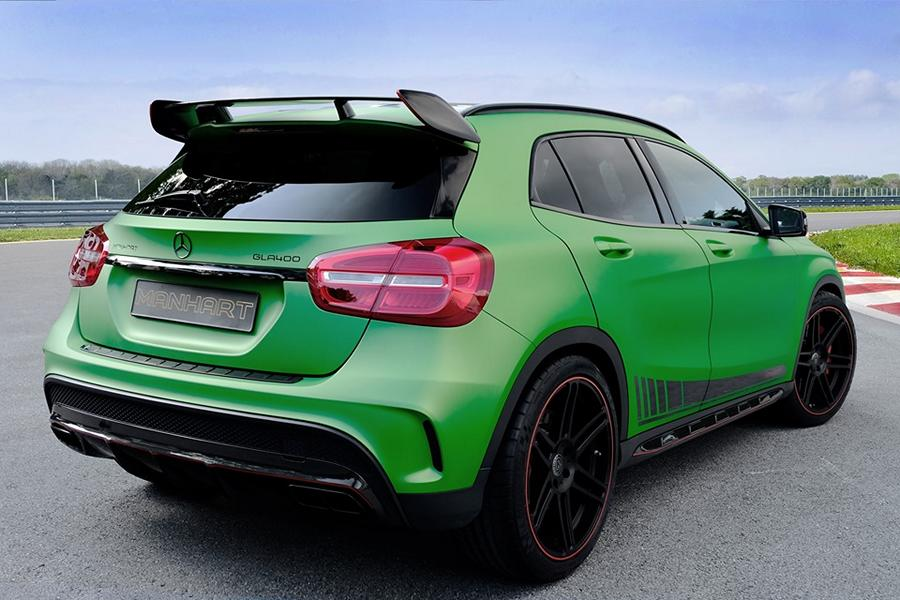 Mercedes Benz GLA Manhart Performance GLA 400 Tuning 1 Mercedes Benz GLA als Manhart Performance GLA 400