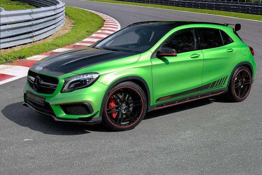 Mercedes Benz GLA Manhart Performance GLA 400 Tuning 2 Mercedes Benz GLA als Manhart Performance GLA 400