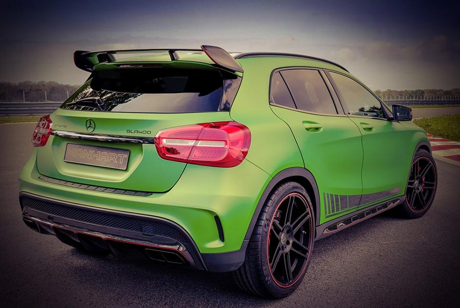 Mercedes Benz GLA Manhart Performance GLA 400 Tuning 4 Mercedes Benz GLA als Manhart Performance GLA 400