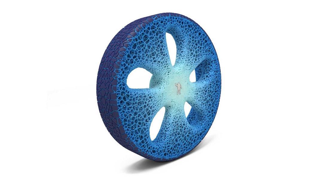 Michelin Uptis Vision Conept luftloser Konzeptreifen Felge 5 Michelin Uptis   luftloser Konzeptreifen zur IAA 2019