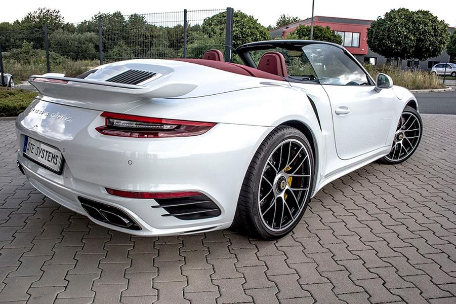 Porsche 911 3.8 Turbo S DTE Chiptuning 5 646 PS & 837 NM im DTE Porsche 911 (991.2) Turbo S