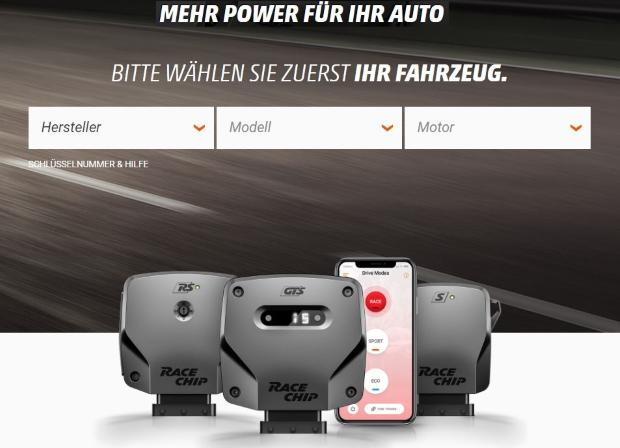 RaceChip Chiptuning Dezent   BMW E60 525i mit ST Suspension by ModBargains