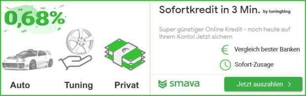Smava tuningblog Kredit 12 e1618563898711 Do it yourself – wenn die Limousine zum Pickup wird!