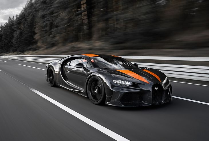 Top Gear 490 kmh im Tuning Rekord Bugatti Chiron Sport 2019 Video: 490 km/h im modifizierten Bugatti Chiron (2019)