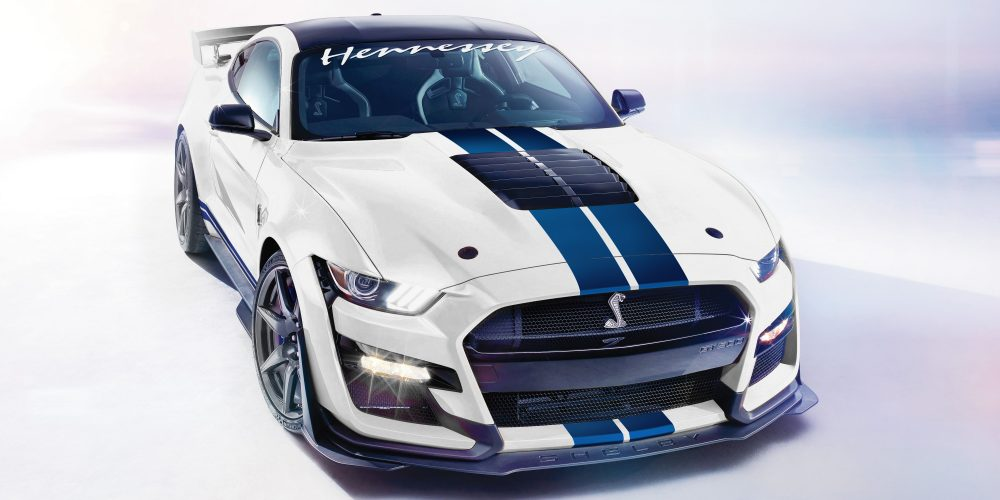 Maximal 1.200 PS! Hennessey Shelby GT500 Ford Mustang