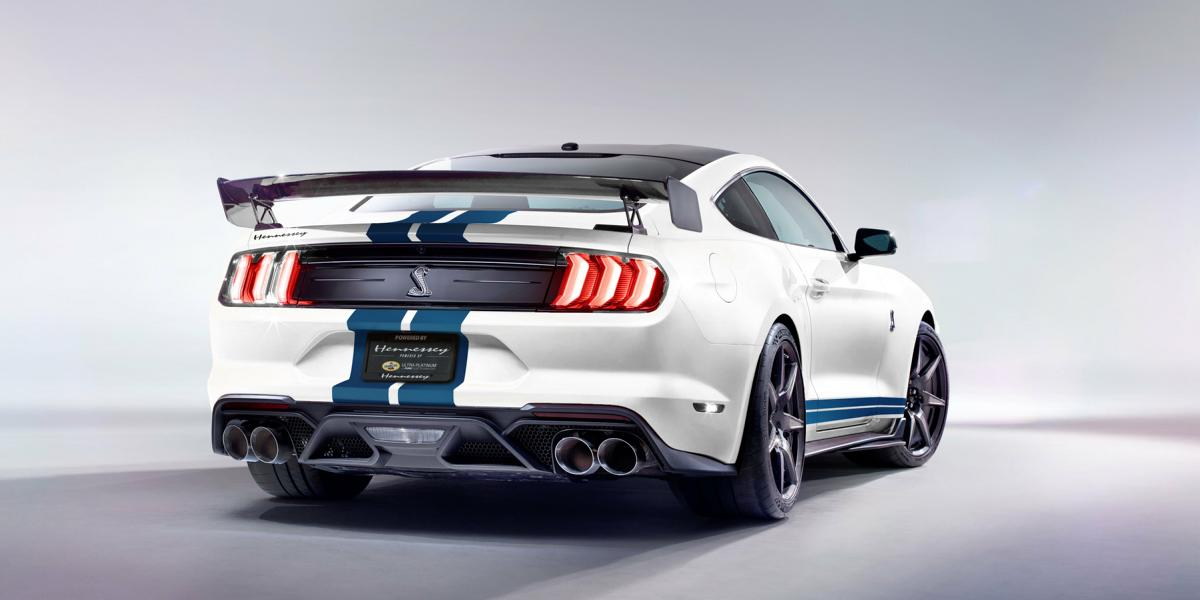 Venom 1200 Hennessey Shelby GT500 Ford Mustang Tuning 2 Maximal 1.200 PS! Hennessey Shelby GT500 Ford Mustang