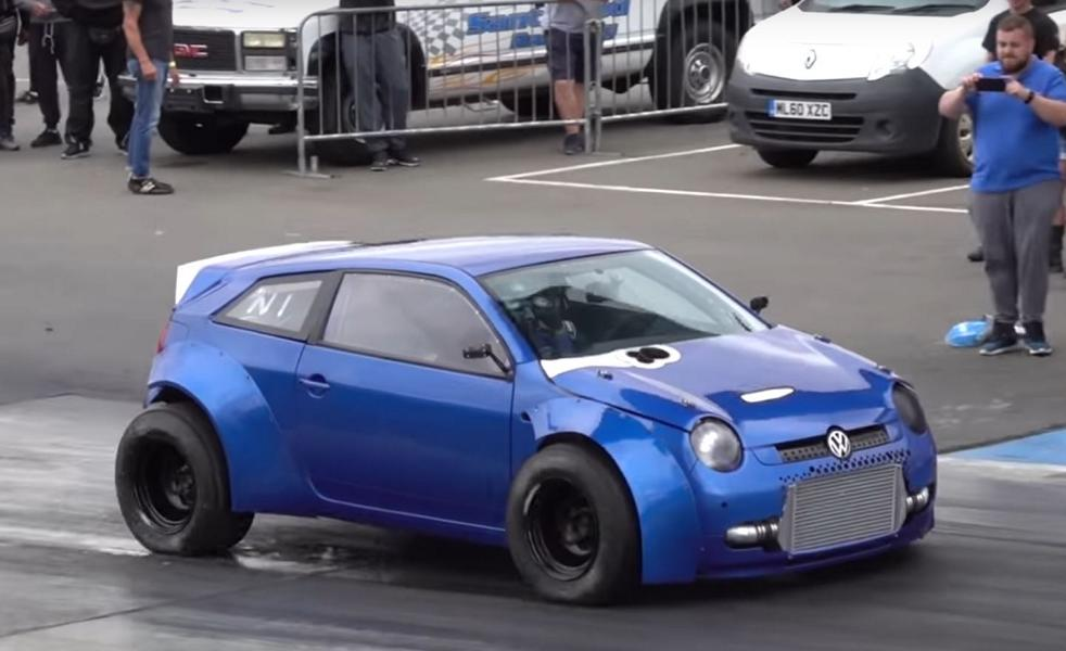 Widebody VW Lupo BiMoto mit 1.800 PS Video: Widebody VW Lupo BiMoto mit 1.800 PS