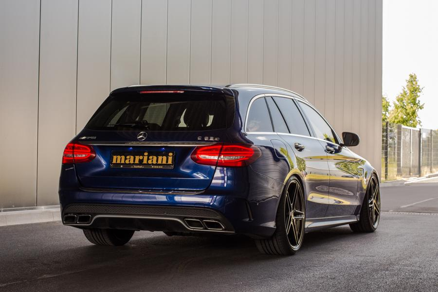 mariani Mercedes C63s AMG 20 Zoll S205 T Modell Tuning 1 In Perfektion: mariani Mercedes C63s AMG auf 20 Zöllern