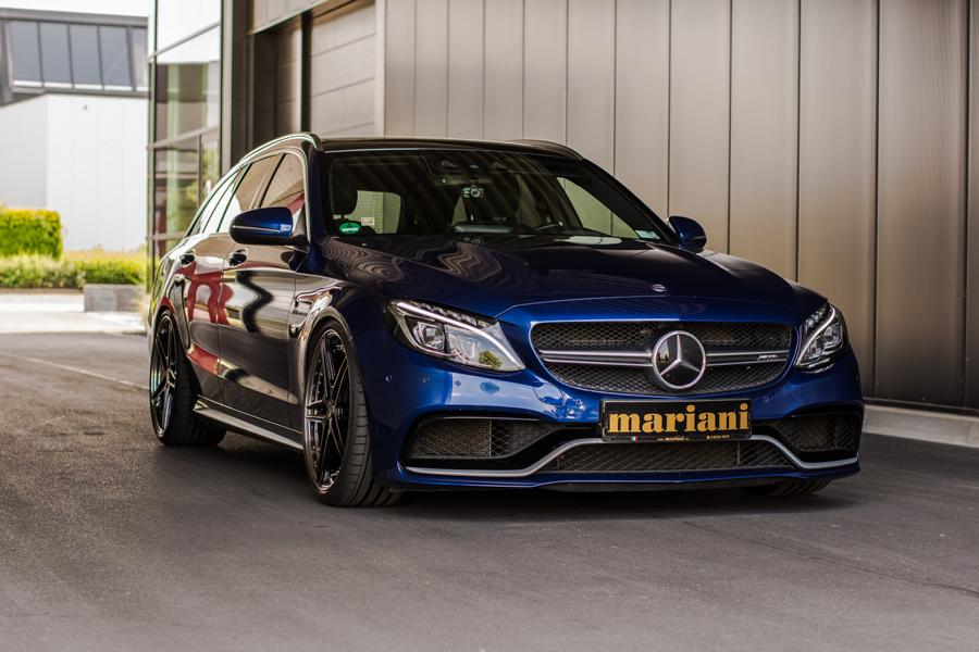mariani Mercedes C63s AMG 20 Zoll S205 T Modell Tuning 2 In Perfektion: mariani Mercedes C63s AMG auf 20 Zöllern