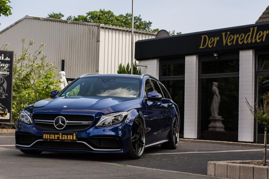 mariani Mercedes C63s AMG 20 Zoll S205 T Modell Tuning 3 In Perfektion: mariani Mercedes C63s AMG auf 20 Zöllern