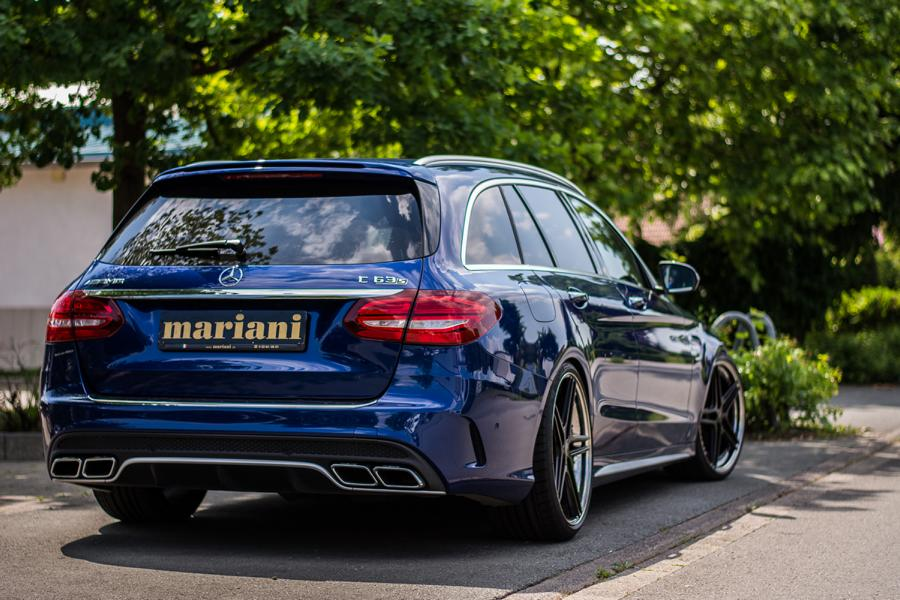 mariani Mercedes C63s AMG 20 Zoll S205 T Modell Tuning 4 In Perfektion: mariani Mercedes C63s AMG auf 20 Zöllern