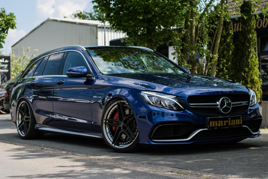 mariani Mercedes C63s AMG 20 Zoll S205 T Modell Tuning 5 In Perfektion: mariani Mercedes C63s AMG auf 20 Zöllern