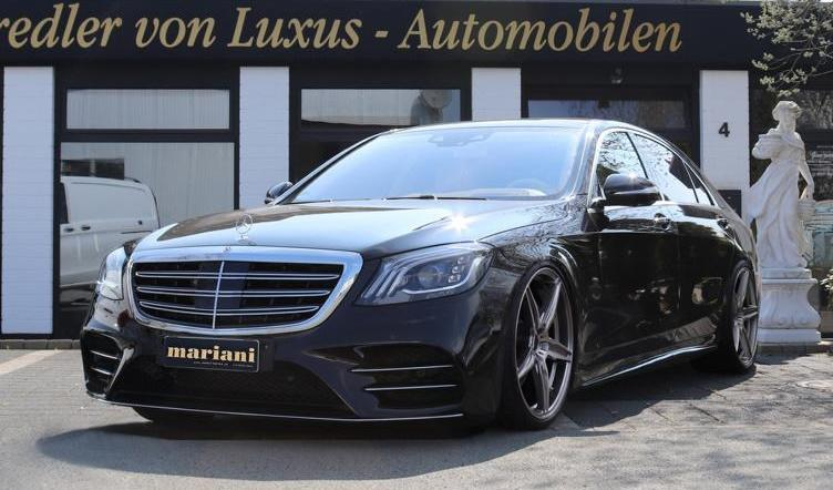 mariani Mercedes S Klasse W222 Maybach S600 X222 Tuning 2 1 Mehr Dampf & Optik: mariani Mercedes S Klasse u. Maybach S600