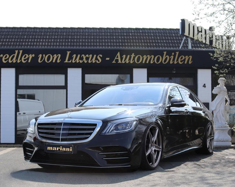 mariani Mercedes S Klasse W222 Maybach S600 X222 Tuning 2 Mehr Dampf & Optik: mariani Mercedes S Klasse u. Maybach S600