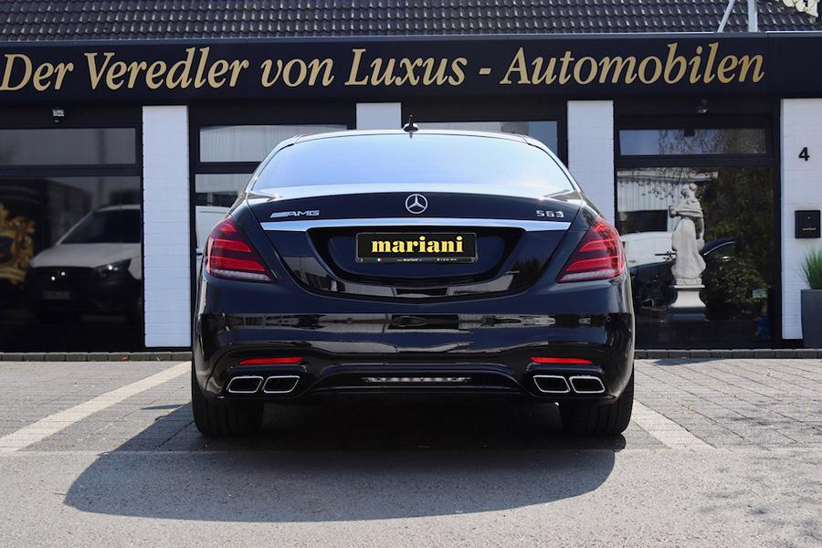 mariani Mercedes S Klasse W222 Maybach S600 X222 Tuning 3 Mehr Dampf & Optik: mariani Mercedes S Klasse u. Maybach S600