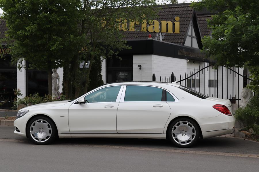 mariani Mercedes S Klasse W222 Maybach S600 X222 Tuning 4 Mehr Dampf & Optik: mariani Mercedes S Klasse u. Maybach S600